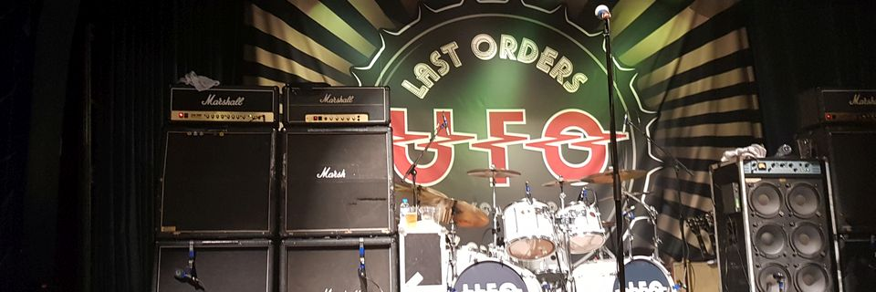 UFO Last Orders Tour – The Assembly 8th March 2019
