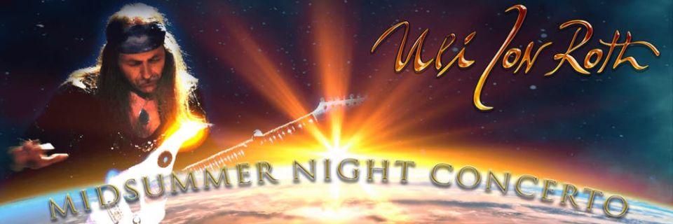 Uli Jon Roth Midsummer Night Concerto – Llansilin 21st June 2019